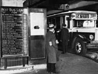 Busbahnhof in New York, 1934 Timeline Classics/Timeline Images