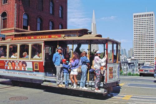Cable Car in der California Street, 1992 Raigro/Timeline Images