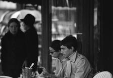 Cafe Deux Magots in Paris, 1975 Juergen/Timeline Images