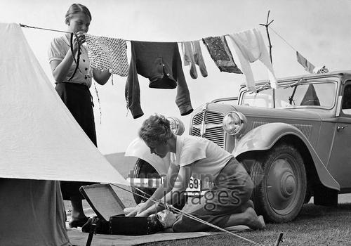 Camping, 1938 Timeline Classics/Timeline Images
