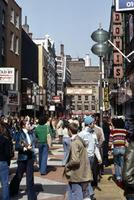 Carnaby Street in London, 1976 Lanninger/Timeline Images