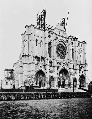 Cathedral of St. John the Divine in New York, 1935 Timeline Classics/Timeline Images