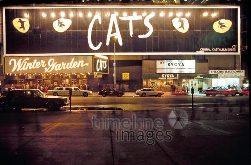 Cats Musical Im Winter Garden Theater Am Broadway In New York