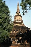 Chedi in Wat Chang Lom, 1985 Czychowski/Timeline Images