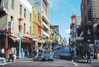 Chinatown in San Francisco, 1992 Raigro/Timeline Images