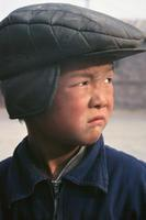 Chinesischer Junge am Juyong Pass, 1987 Czychowski/Timeline Images