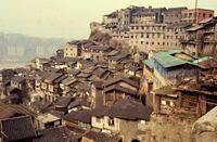 Chongqing in China, 1985 RalphH/Timeline Images