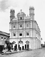 Christliche Kirche in Old Goa, 1928 Timeline Classics/Timeline Images