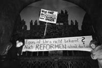 Demonstrationen in Leipzig, 1989 Marx/Timeline Images
