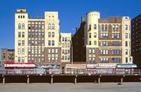 Der Boardwalk von Coney Island in Brighton Beach in New York, 1992 Raigro/Timeline Images