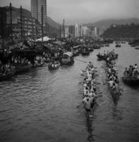 Drachenboot-Rennen in Aberdeen/Hongkong, China, 1972 hwh089/Timeline Images