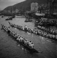 Drachenboot-Rennen in Hongkong, 1972 hwh089/Timeline Images