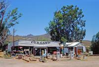 Ed's Camp an der Route 66, 1993 Raigro/Timeline Images