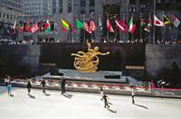 Eisbahn am Rockefeller Center, 1992 Raigro/Timeline Images