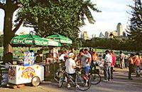 Eiscremestand im Central Park, 1992 Raigro/Timeline Images