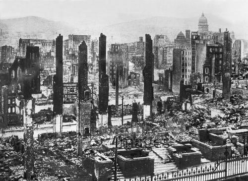 Erdbeben In San Francisco 1906 Fotocommunity Timeline Images