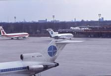 Es war einmal Pan AM Flugzeug in Tegel Winter/Timeline Images