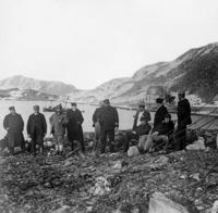 Expeditionsteam von Salomon Andree in Spitzbergen Timeline Classics/Timeline Images