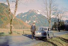 Fiat Millecento in der Gegend um Ettal, um 1960 HRath/Timeline Images