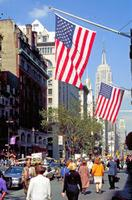 Fifth Avenue im Bereich des Empire State Buildings Raigro/Timeline Images