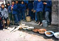Fischmarkt in Chongqing, China, 1985 RalphH/Timeline Images