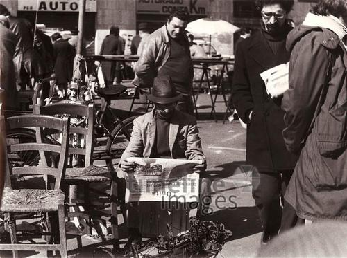 Flohmarkt in Rom, 1970 vickiclemm/Timeline Images