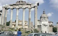 Forum Romanum in Rom, 1959 RainerA/Timeline Images