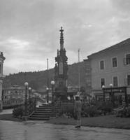 Franz-Carl-Brunnen in Bad Ischl, ca. 1935 Joachim Krack/Timeline Images