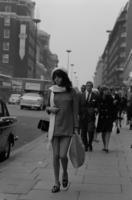 Frau in London, 1970er Jahre kurka/Timeline Images