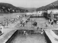 Freibad in Heidelberg, 1931 Timeline Classics/Timeline Images