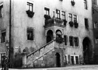 Freitreppe am Rathaus in Oschatz, 1934 Timeline Classics/Timeline Images