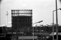 Gasometer in Berlin, 1982 Winter/Timeline Images