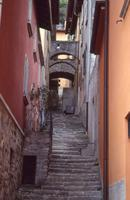 Gasse in Bellagio am Comer See, Italien, 1990 RalphH/Timeline Images