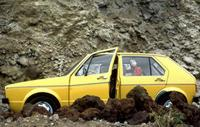 Gelber VW Golf in Teneriffa, 1978 Juergen/Timeline Images