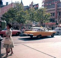 Gelbes Taxi am Broadway, 1962 Juergen/Timeline Images
