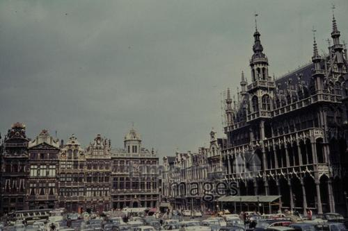 Grand Place in Brüssel, 1963 Czychowski/Timeline Images