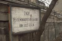 Grenzschild in Wedding, Berlin, 1961 RalphH/Timeline Images