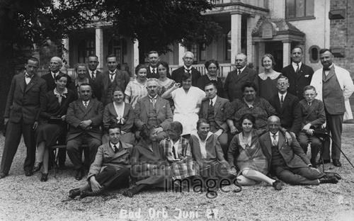 Gruppenbild in Bad Orb, 1927 Isabella/Timeline Images