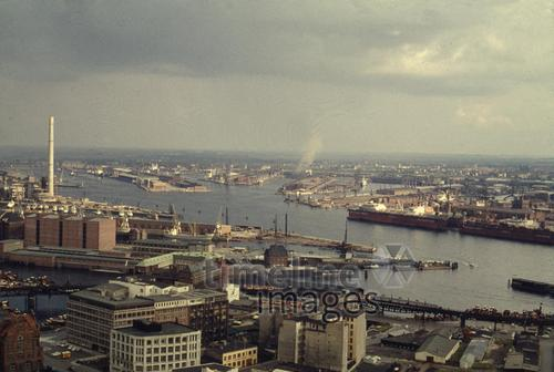 Hamburger Hafen, 1966 1Frido2/Timeline Images
