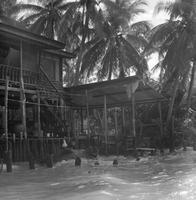 Haus am Fluss in Bangkok, Thailand 1972 hwh089/Timeline Images