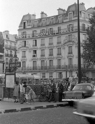 Hotel Royal Pigalle in Paris, 1962 Juergen/Timeline Images