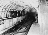 Hudson Tunnel in New York, 1908 Timeline Classics/Timeline Images