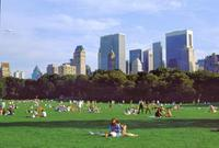 Im Central Park von New York, 1992 Raigro/Timeline Images