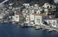 Insel Poros, Griechenland, 1989 RalphH/Timeline Images