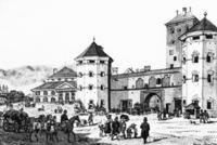 Isartor in München, 1829 Timeline Classics/Timeline Images