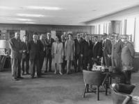 Journalistentreffen bei Axel Springer in Berlin, 1967 tikitu/Timeline Images