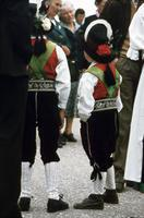 Jungen in Tracht am Ritten, 1981 Hollrieder/Timeline Images