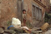 Kind in Nepal, 1986 RalphH/Timeline Images