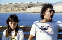 Kind und Mann am Roten Meer in Sharm El-Scheich, 1982 Juergen/Timeline Images