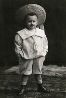 Kinderportrait in Berlin, 1900 brautjung/Timeline Images